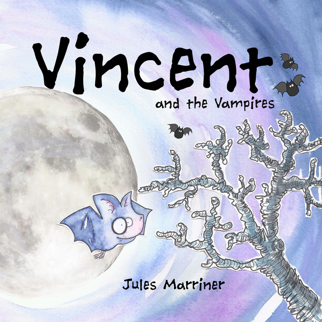 Picture Book 32pages VINCENT & the VAMPIRES age 3-8yr
