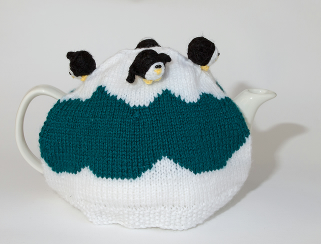 penguin tea cosy