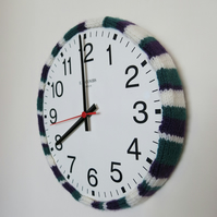 knitted clock