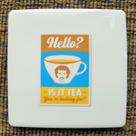 Lionel Richie Tea Coaster