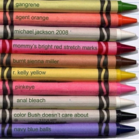Crayon Colours Fridge Magnet