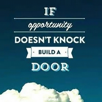 Opportunity Knocks Fridge Magnet