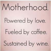 Motherhood Fridge Magnet