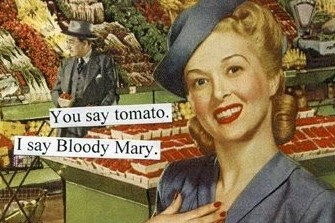 Bloody Mary Fridge Magnet