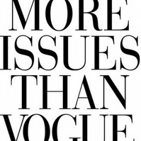 More Issues Than Vogue Fridge Magnet