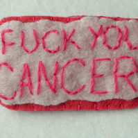 Fight Breast Cancer Badge