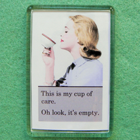 Cup of Care Fridge Magnet