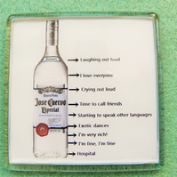 Alcohol Limits Fridge Magnet