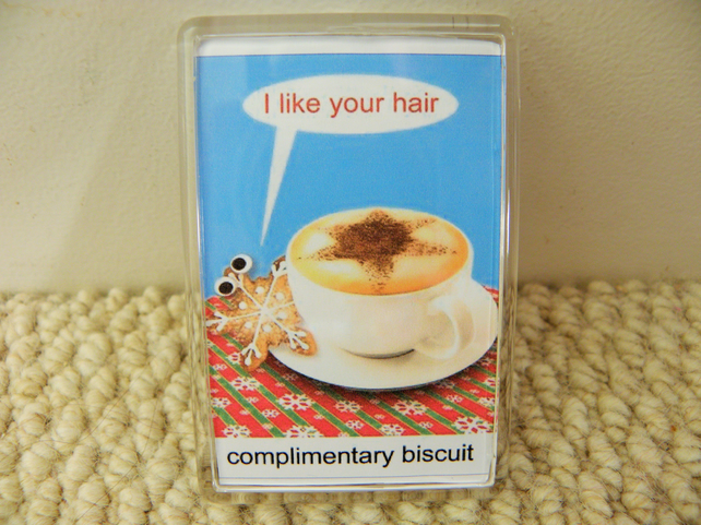 Complimentary Biscuit Fridge Magnet