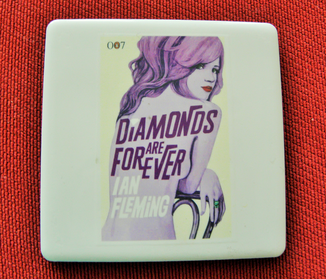 Diamonds Are Forever Coaster
