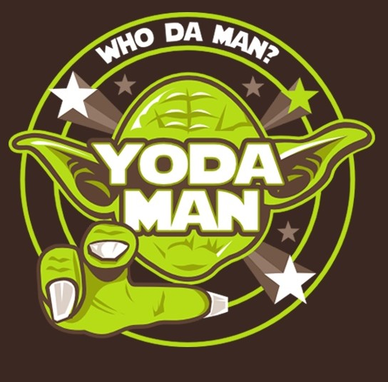 Yoda Man! Fridge Magnet