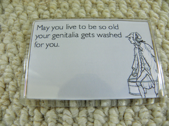May You Live To Be So Old Magnet
