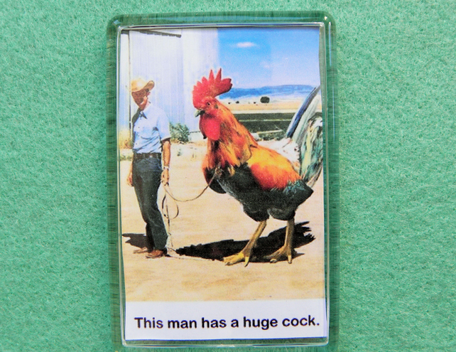 This Man Has A Huge Cock Magnet