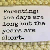 Parenting Quote Magnet