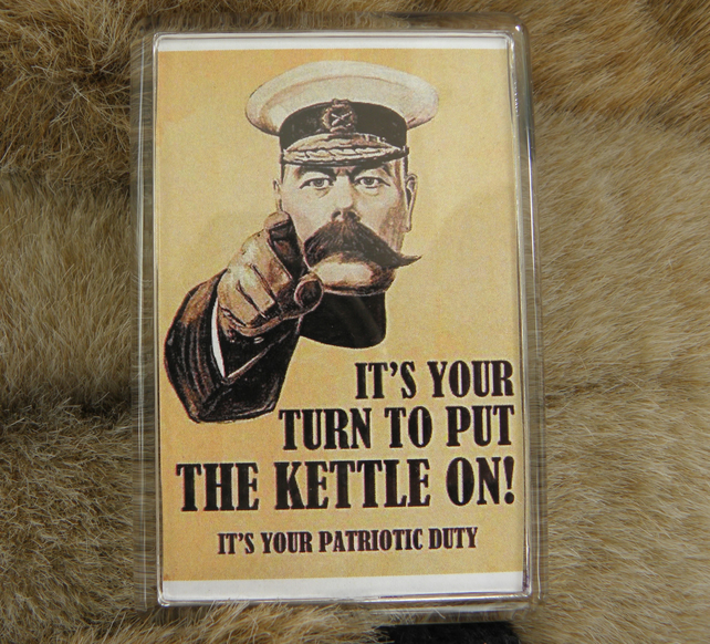 Making Tea is Your Patriotic Duty Magnet