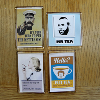 Set of Tea Lovers Magnets