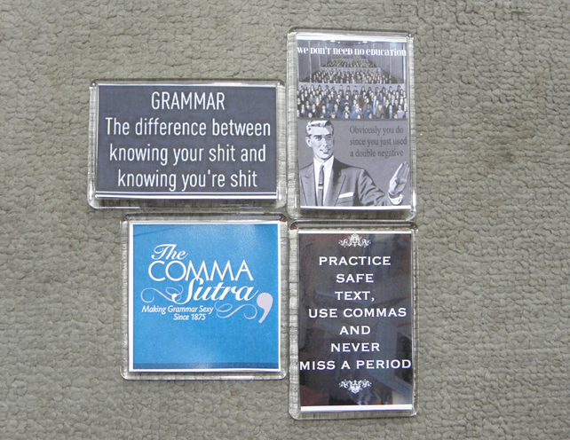 Set of Grammar Police Magnets