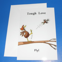 Tough Love Parenting Card