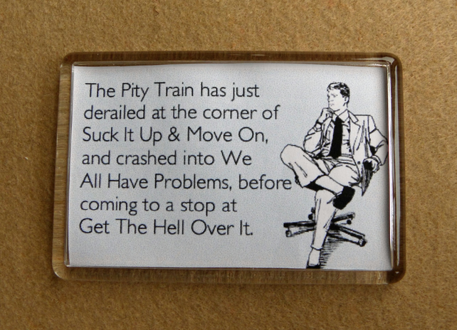 Pity Train Magnet