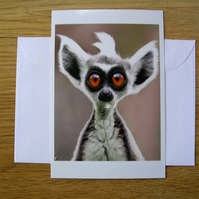 Who Me? Blank Greeting Card