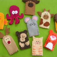 Set of 3 Finger Puppets
