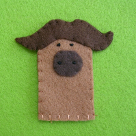 Buffalo finger puppets