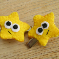Pair of Wishing Star Hairclips