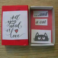 All You Need Is Love - and a cat!