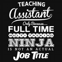 Teaching Assistants Are Ninjas Fridge Magnet