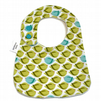 Cotton baby dribble bib  (tweet)