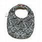 Premium cotton baby dribble bib (mono)