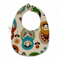 Premium cotton baby dribble bib (russian)