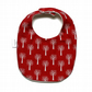 Premium cotton baby dribble bib (trees)