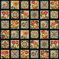 Quilting Treasures - In Bloom Labels