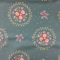 Fabric - Chirpy Lola - Teal