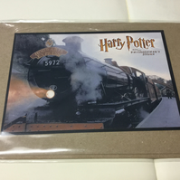 Harry Potter Greeting Card Hogwarts Express