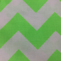 Fabric - Neon Green Chevrons
