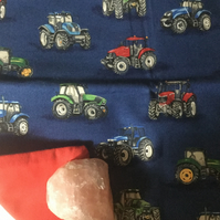 Handmade Cushion Cover - Tractors