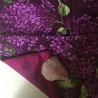 Handmade Cushion Cover - Lilacs