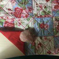 Handmade Cushion Cover - SALE - Patchwork Roses