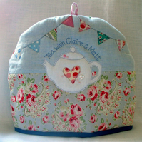 Claire and Matt Tea Cosy