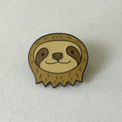 Godfrey Sloth Pin Badge