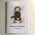 Mortimer Monkey Pattern Booklet Only