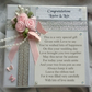 Unique Wedding Keepsake Poem Gift - Little Box Filled with Love