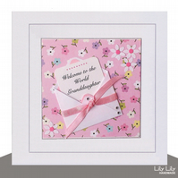 New Baby Card,  Little Note Design, Handmade, Personalised