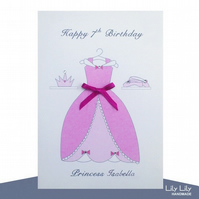Princess Card - Personalised