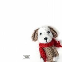 Dog pencil topper, Harry, Handmade by Lily Lily Handmade