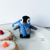 Penguin, needle felted by Lily Lily Handmade