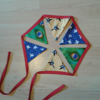 Bird themed bunting.