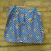 SALE Cupcake Half Apron maid-of-fabric.